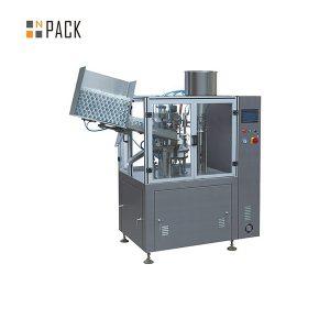 Косметикаға арналған өнеркәсіптік пластикалық түтіктерді толтыруға арналған герметикалық машина